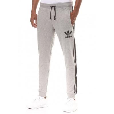 pantaloni adidas uomo blu in cotone
