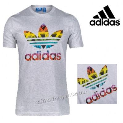 t-shirt adidas trefoil donna