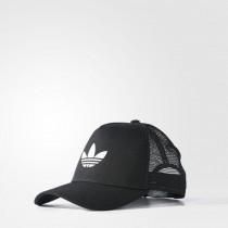 adidas logo cappello nero
