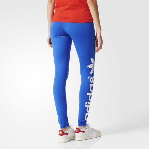 leggings adidas blu